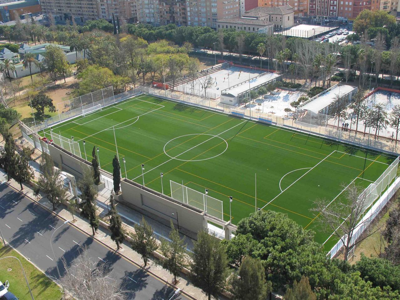 Complejo deportivo campo de futbol tramo ii antiguo - Campo de futbol del valencia ...
